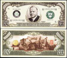 Lot of 100 Bills - Herbert Hoover 31st President Dollar