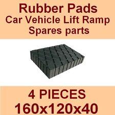 Universal Scissor Lift Pads - H40 - Ramp Rubber Blocks - Made in Italy