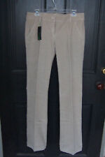 NWT STILE BENETTON $79 SZ 10 Stretch Corduroy LowRise Khaki Pants IT 46 34x34.5