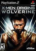 X-Men Origins Wolverine Black Label PlayStation 2 PS2 Complete with Manual