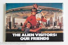 "V Visitors ""Our Alien Friends"" FRIDGE MAGNET (2.5 x 3.5 inches) poster tv show"