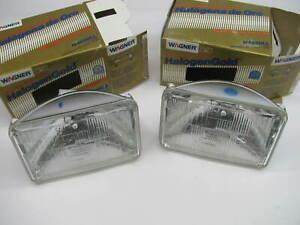 (2) Wagner H4656LL Long Life Sealed Beam Headlamp Headlight Light Bulb