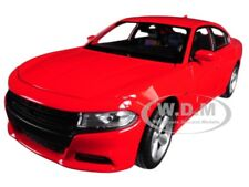2016 DODGE CHARGER R/T RED 1:24-1:27 DIECAST MODEL CAR BY WELLY 24079