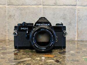 pentax mx black MINT with 50mm F1.4