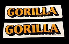 HONDA Z50 Gorilla Tank Sticker New : 2 A pair 1981 mini trail