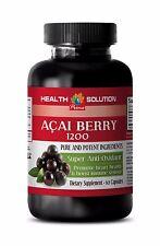 Acai berry capsules - ACAI BERRY 1200 SUPER ANTIOXIDANT - Energy supplement 1B