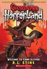 Welcome to Camp Slither (Goosebumps HorrorLand, No. 9) by R.L. Stine, Good Book