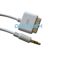 N32 3.5mm manija a iPod iPhone cable cable de audio coche