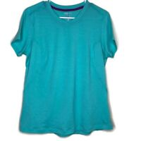 Mountain Hardwear Womens Large Top Short Sleeve Green