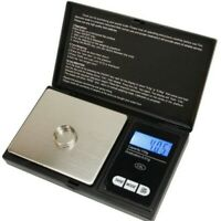 Digital Scale 1000g x 0.1g Jewelry Gram Pocket Size Silver Gold Coin Herb Grain