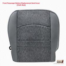 2016 2017 2018 Dodge Ram SLT From Passenger Side Bottom Cloth Seat Cover Gray