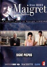 25712 // COLLECTION MAIGRET BRUNO CREMER SIGNE PICPUS DVD NEUF