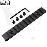 Keymod 11 Slot 5 inch Picatinny Weaver Rail Section - Aluminum