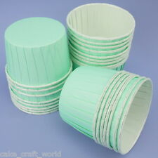 Pack Of 24 Aqua Baking Cups For Cupcakes