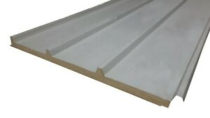 Insulated roofing sheets, composite panel / sandwich panel 40mm thickness