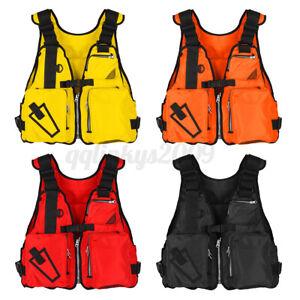 Adult Adjustable Buoyancy Aid Sailing Kayak Canoeing Fishing Life Jacket Vest OZ