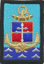 9° Brigade Légère Blindée de Marine, mer bleue, grosses vagues, en tissu (7314)