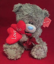 """ME TO YOU BEAR TATTY TEDDY 12"""" LOVE YOU RED HEART LOLLIPOPS BEAR GIFT"""