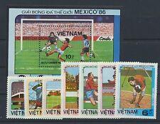 Vietnam 1633/39 bloque 43 post fresco/fútbol...