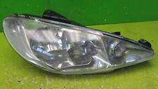 PEUGEOT 206 Right  Headlamp ( Facelift)  Halogen Lamp Double Lens 03-