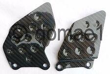Honda CBR600RR carbon fiber heel guards PC37 PC40 2003-2017 plates protectors