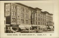 Olean NY Olean House Hotel Real Photo Postcard