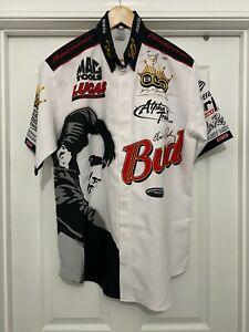 Brandon Bernstein 2007 Elvis Anniversary/Budweiser NHRA Crew Shirt (Signed)