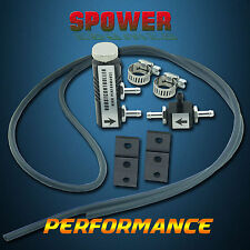 Universal Black Adjustable Turbo Boost Controller Manual With Fitting Kits New