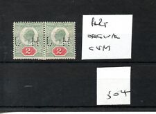 GB - Edward V11  - (504) - 2d definitive - pair - perfin - part original gum
