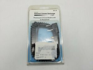 Paramount Rollei Locking to Household Camera Flash Coiled Sync Cable Cord