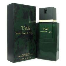 TSAR for Men by Van Cleef & Arpels 3.3 oz EDT Eau de Toilette Spray New in Box