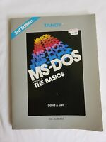 Tandy MS-DOS The Basics Volume 1 by David A Lien 1986 Book 3rd Edition (bin11)