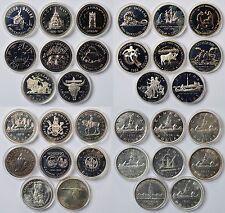 Sammlung Lot 32 Münzen 500 u. 800 Silber 731 g Kanada Canada Dollar 1936-90 Box