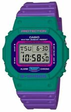 Casio G-Shock DW-5600TB-6 Joker Color Purple/Green Brand New Complete Withtags