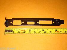 2 x BIOSTAR Video Card Full Height Size Expansion Slot Bracket CRT VGA+HDMI+DVI