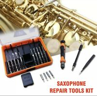Saxophone Repair Tools Kit for Saxophone Woodwind Flute Clarinet Repair