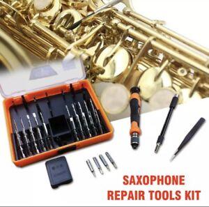 Saxophone Repair Tools Kit for Saxophone Woodwind Flute Clarinet Repair