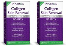 Natrol Collagen Skin Renewal Advanced Beauty **2 PACK** 240 Tablets Total, NIB