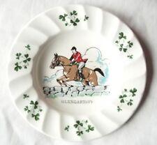 "Carrigaline Pottery Co. Ireland Fox Hunter and Horse Decorative Plate 5.25"""