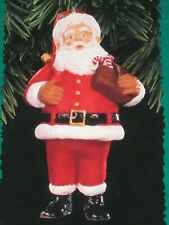 Santa 1996 Keepsake Of Membership Hallmark Keepsake Ornament Collector'S Club