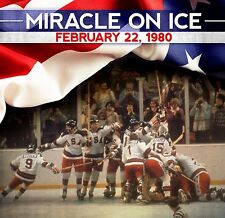 """1980 USA Hockey """"Miracle on Ice"""" DVD - USA vs USSR - Complete Game Sports"""