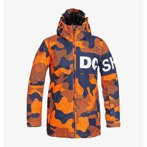 DC shoes Propaganda Youth Jacket Pill Camo Shocking Orange 2021 Jacket Boys