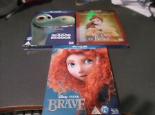 Disney 3d blu ray lot The Good Dinosaur Brave Beauty and the Beast REGION FREE