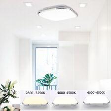 24W LED Ceiling Oyster Light Fitting 45CM Square Downlight Lighting Panel Lamp