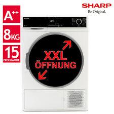 Wäschetrockner Trockner Wärmepumpentrockner A++ Sharp KD-HHH8S7GW2-DE