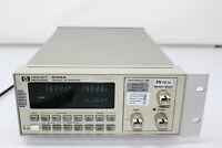 HP 8156A Optical Attenuator Option 121