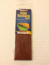 SCULPEY Polymer Clay Clay Texture Sheet SPRING FLING FLOWERS NIP