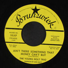 YOUNG-HOLT TRIO: Ain't There Something Money Can't Buy / Mellow Yellow 45 (dj,