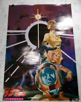 The Ideon: A Contact, Be Invoked, Official Original Theater poster 1982 SUNRISE