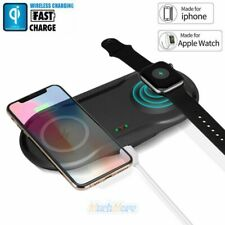 Qi Wireless Charger Dual Phone Charging Pad Mat For iPhone 11 Pro 8 8Plus XR XS